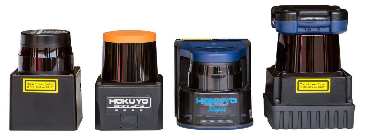 Acroname Hokuyo Laser Range Finder Comparison