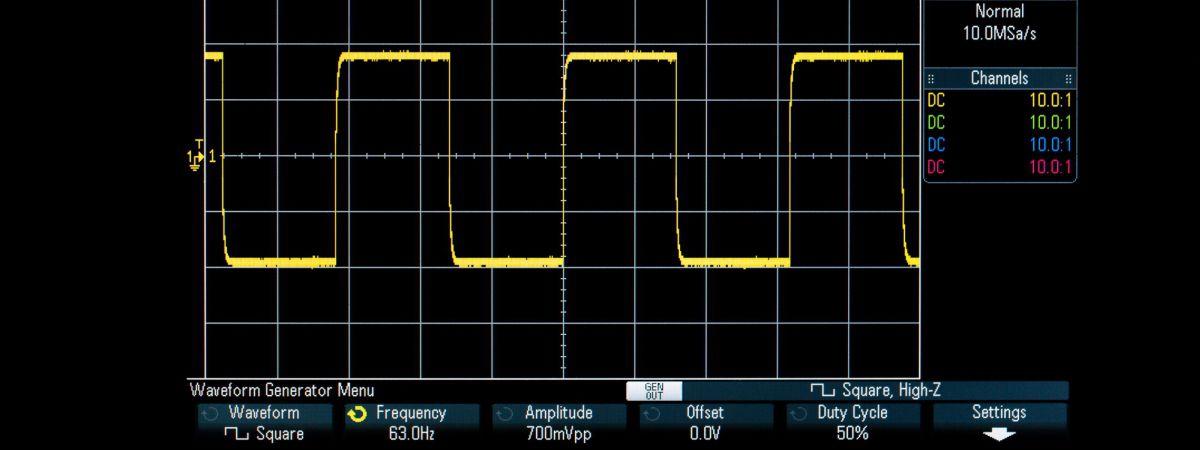 Acroname description of pulse width modulation