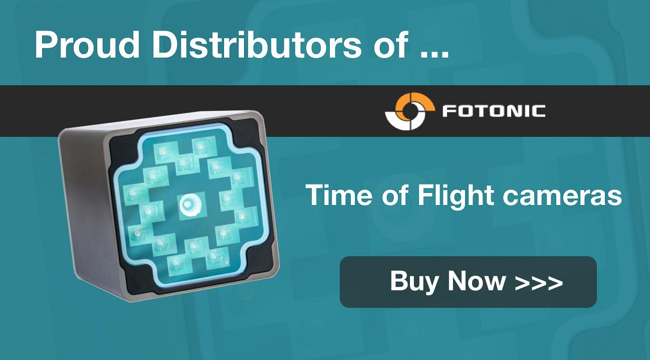 Acroname proud distributor of Fotonic time of flight cameras