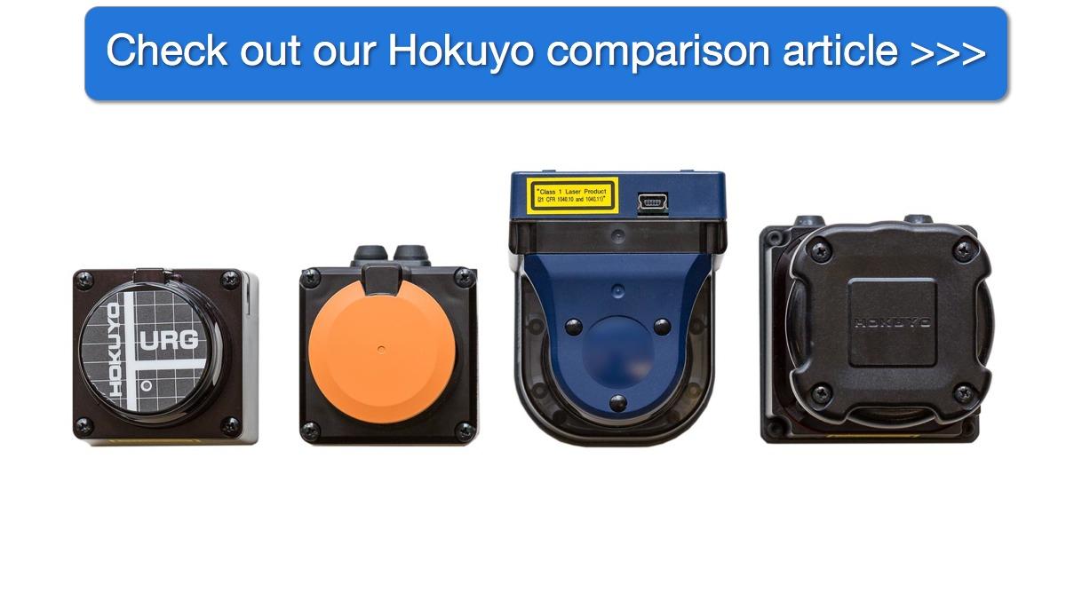 Acroname Hokuyo Comparison Article