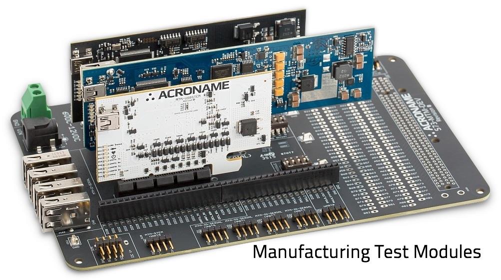 Manufacturing Test Modules