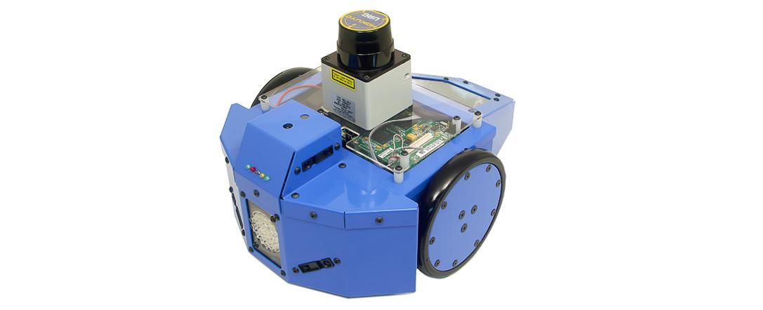 Acroname Garcia robot with Hokuyo URG-04LX