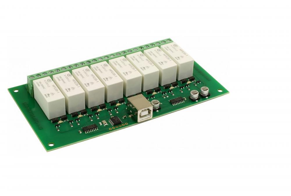 Devantech USB-RLY16L - 8 x 16A Latching Relay