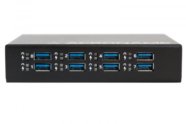 Programmable Industrial USB 3.0 Hub front panel