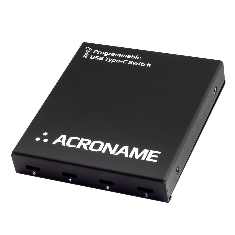 Acroname Programmable Industrial USB Type-C 4-Port Switch