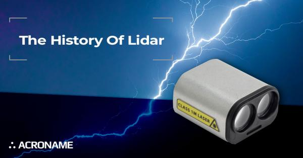 The History Of Lidar Title Photo