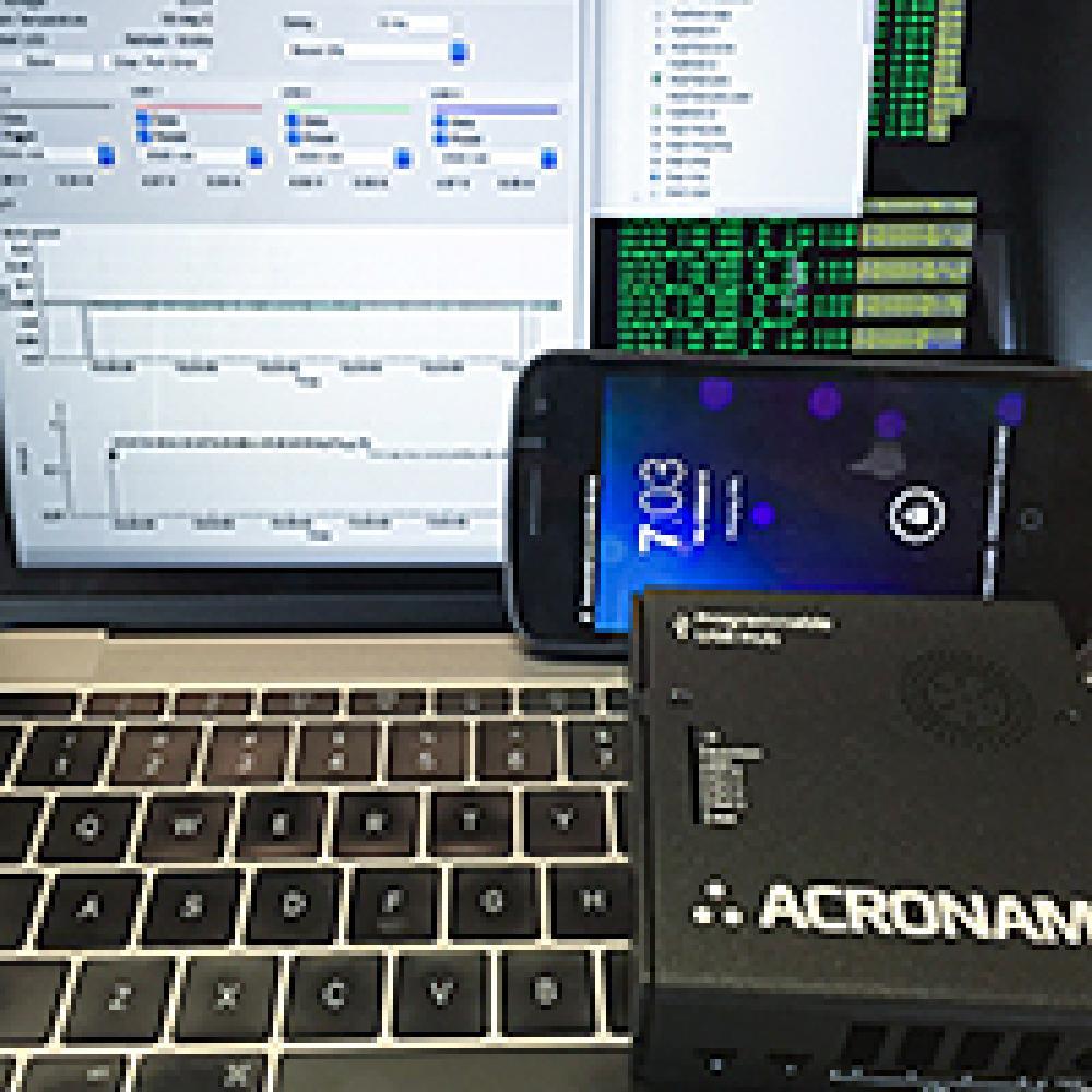 Acroname USB Hub 2x4 Android Demo