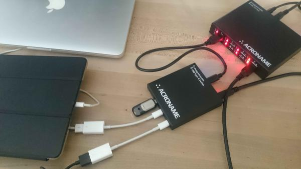Working with USB-C-Switch