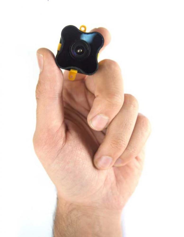 Hand holding TeraRanger Evo 64px