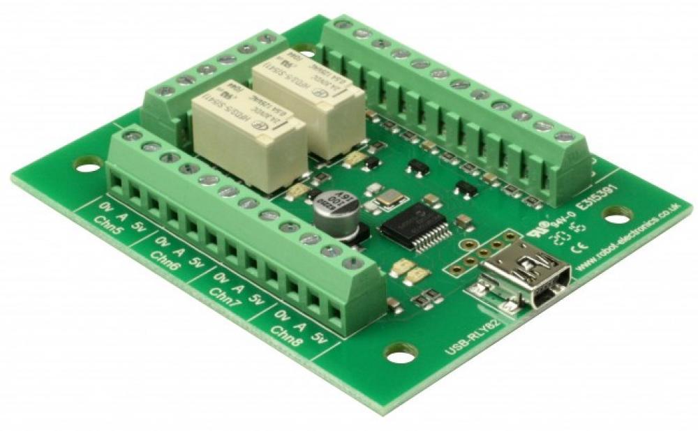 Devantech USB-RLY82 - 2 Channel USB Relay