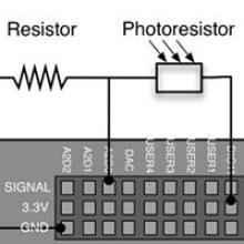 Reading a Photoresistor Asynchronously