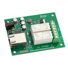Devantech ETH002 Ethernet - 2 x 16A relay module