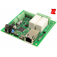 Devantech dS1242 - 2x16A Ethernet Relay