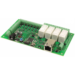 Devantech dS3484 4x16A Ethernet Relay with Digital Switching I/Os