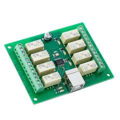 Devantech 8 Channel USB Relay Module