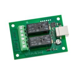 Devantech 2x16A USB Relay Module