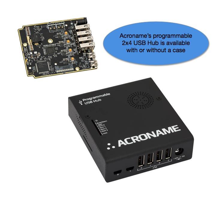 Acroname Programmable USB Hub 2x4